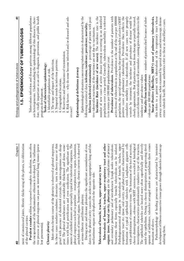 epidemiologyoftuberculosis Global epidemiology of tuberculosis previous article tuberculosis in sub-saharan africa: opportunities, challenges, and change in the era of antiretroviral treatment next article priorities in tuberculosis research tuberculosis is the leading cause of death from a curable infectious disease 1.