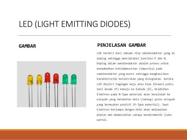 Karakteristik light emitting diode images