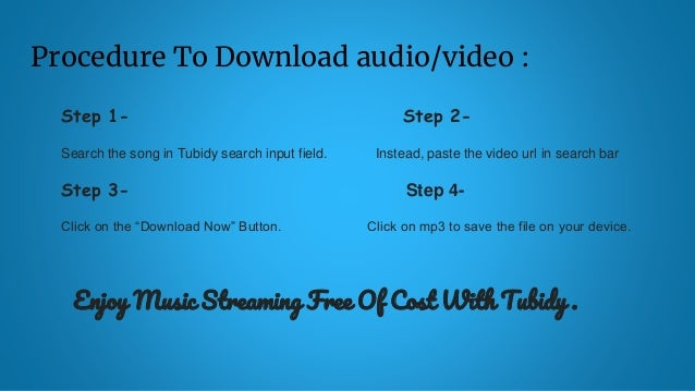 Tubidy Free Mp3 Mp4 Downloads In Seconds