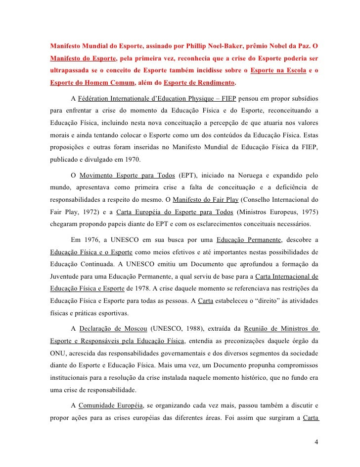 6a4c4064f ... 4. Manifesto Mundial do Esporte ...