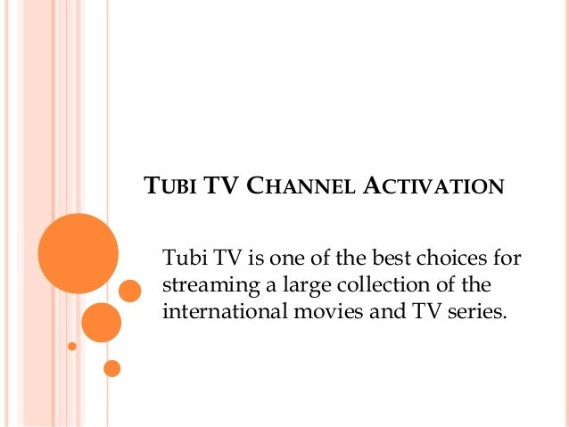 Tubi TV Channel Activation