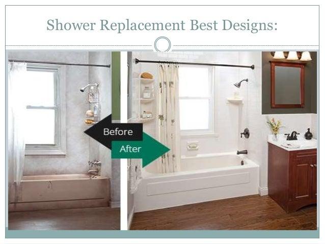 shower replacement best designs