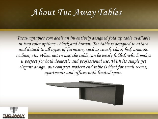2. U2022 Adjustable End Table ...