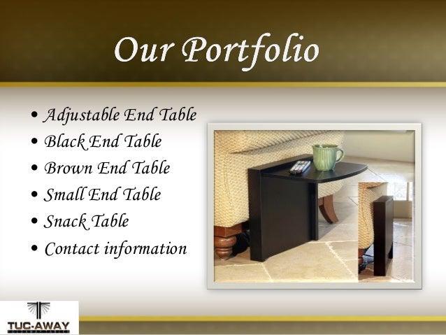 ... Table U2022 Contact Information; 3. Adjustable End ...