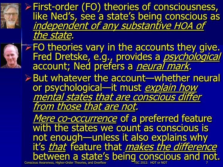 Fred Dretske's Concept of Consciousness Essay