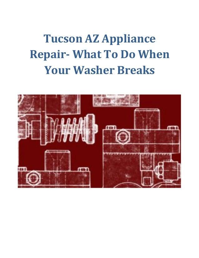 washing machine repair tucson