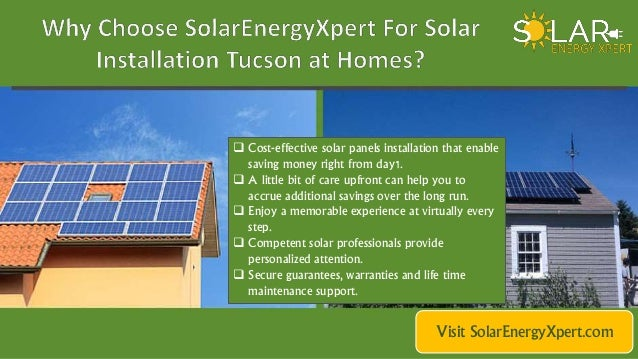 Locate Best Solar Companies In Tucson Arizona