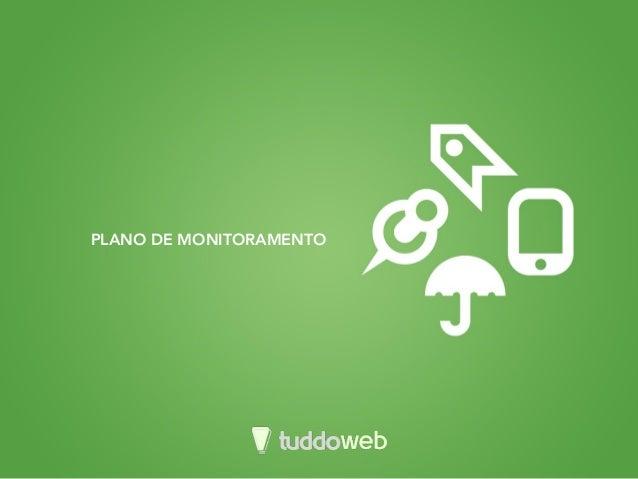 PLANO DE MONITORAMENTO