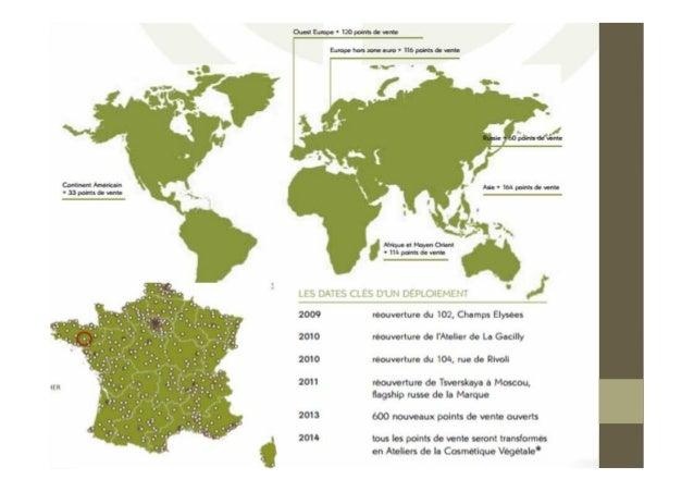 Etude de cas yves rocher for Les magasins du monde