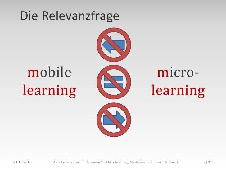 Eine kleine Portion, bitte! Lernmaterialien für Microlearning Slide 2