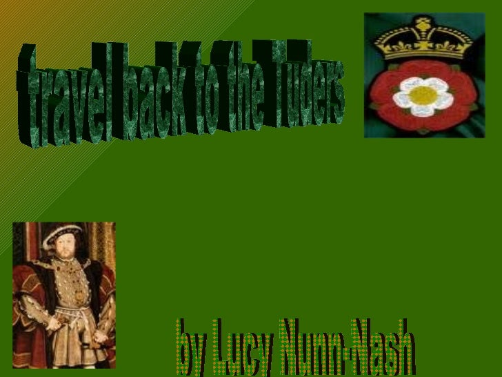 travel back to the Tuders by Lucy Nunn-Nash