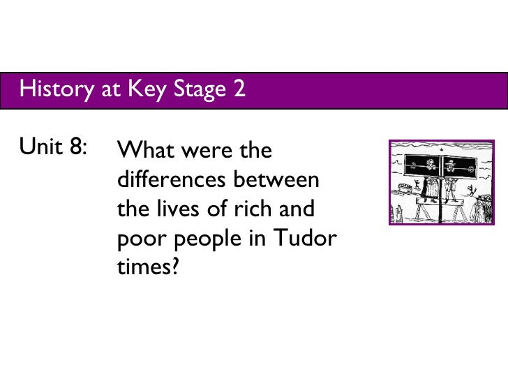 History at Key Stage 2 Unit 8:  What were the differences between the lives of rich and poor people in Tudor times?