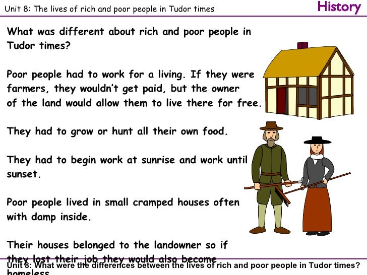 What was it like to live in tudor times