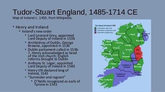 Map Of England Henry Viii.Tudor Stuart England 1485 1714 A D Lecture By Dr Lizabeth Johnson