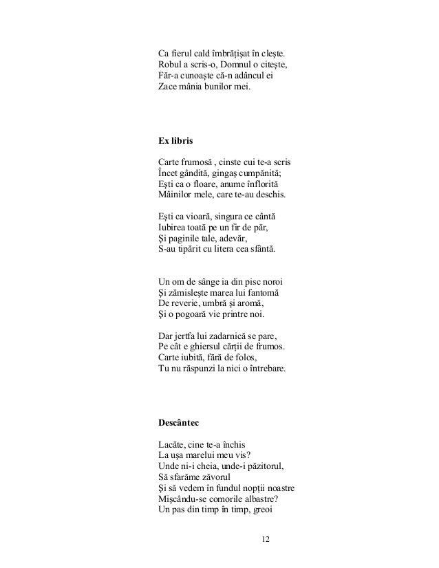 Tudor Arghezi Poezii