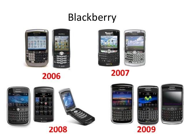 Blackberry  2006  2008  2007  2009