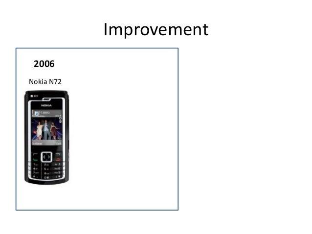 Improvement 2006 Nokia N72