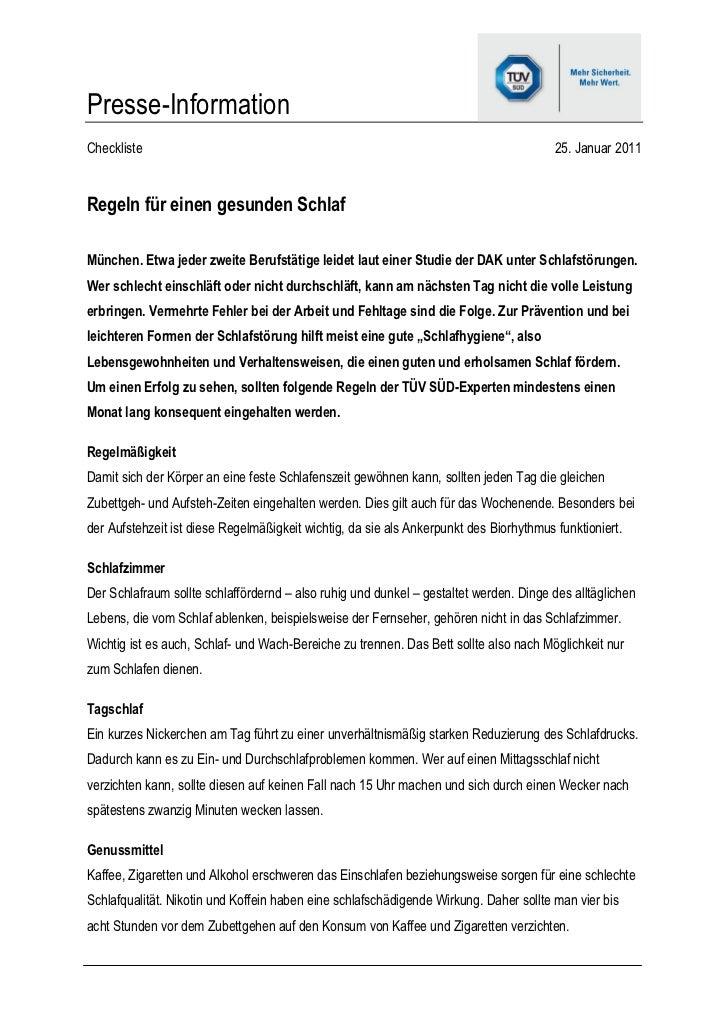 Presse-InformationCheckliste                                                                              25. Januar 2011R...