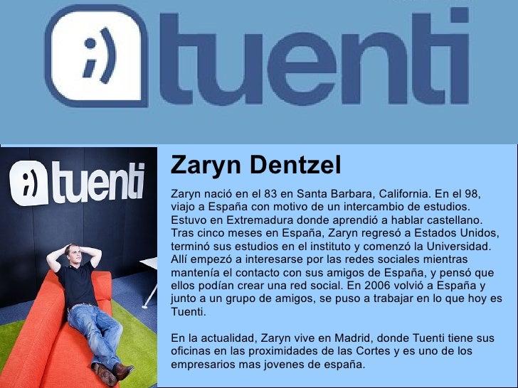 Zaryn Dentzel Zaryn nació en el 83 en Santa Barbara, California. En el 98, viajo a España con motivo de un intercambio de ...