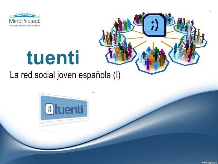 tuenti La red social joven española (I)