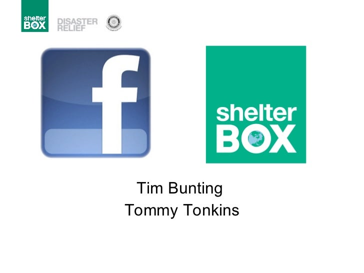 Tim Bunting  Tommy Tonkins