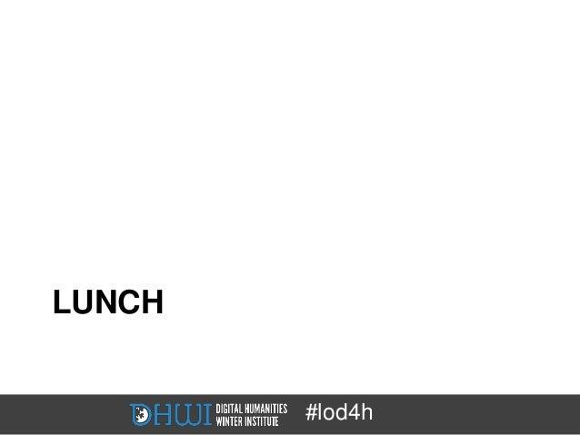 LUNCH        #lod4h