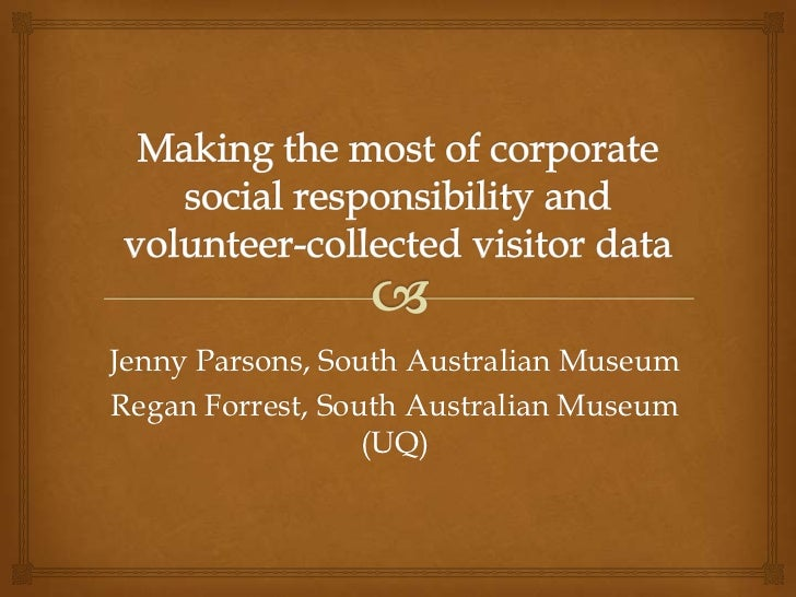 Jenny Parsons, South Australian MuseumRegan Forrest, South Australian Museum                  (UQ)