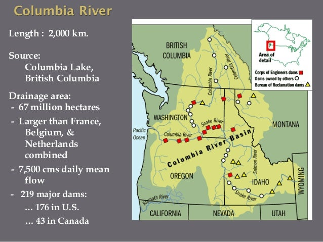 Hydropower in the Columbia River: History of Fish Passage Development and Implications for the Mekong River Slide 3