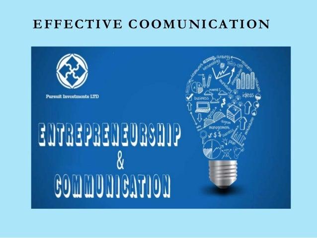 EFFECTIVE COOMUNICATION