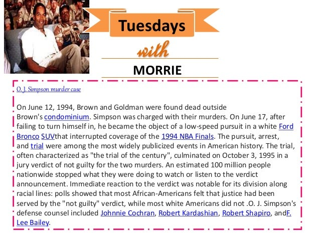 tuesdays with morrie reaction Tuesdays with morrie is a memoir by american writer mitch albom the story was  later recreated by thomas rickman into a tv movie of the same name directed.