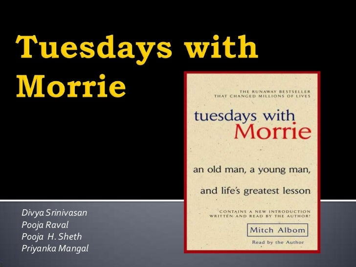 tuesday s with morrie