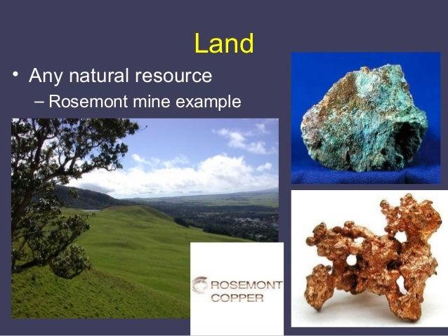 Resultado de imagem para production factors land