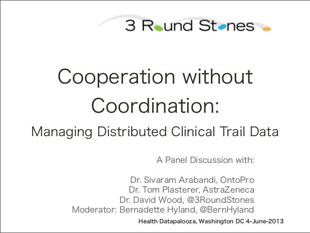 A Panel Discussion with:Dr. Sivaram Arabandi, OntoProDr. Tom Plasterer, AstraZenecaDr. David Wood, @3RoundStonesModerator:...