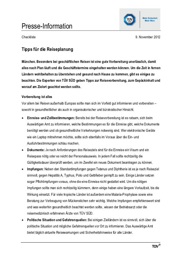 Presse-InformationCheckliste                                                                              9. November 2012...