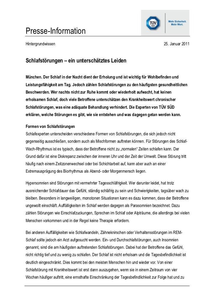 Presse-InformationHintergrundwissen                                                                          25. Januar 20...