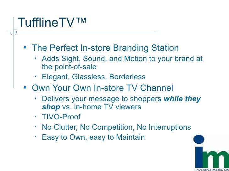 Tuffline Tv Overview Slide 3