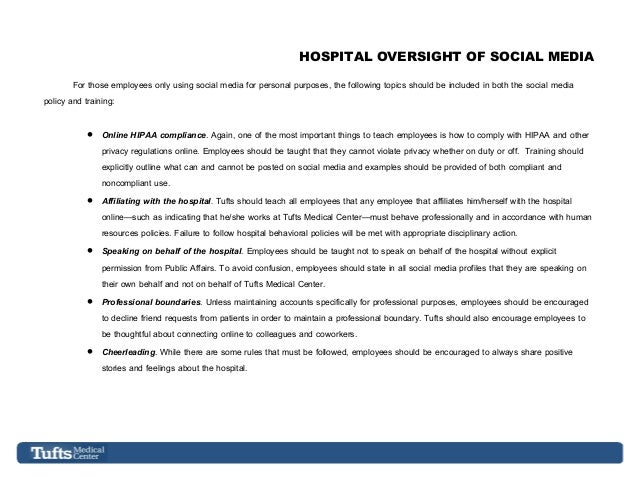 a perception of the online social media and the regulations of the hipaa Provides online medical advice that us interventional  hipaa the laws  governing health care in social media fall under the health insurance portability  and accountability act  could give patients the perception of objectification of  their.