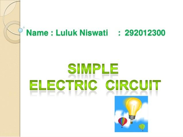Name : Luluk Niswati  : 292012300