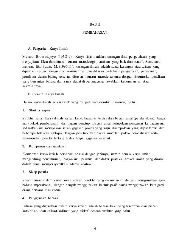 Struktur Karya Tulis Ilmiah Ppt Download