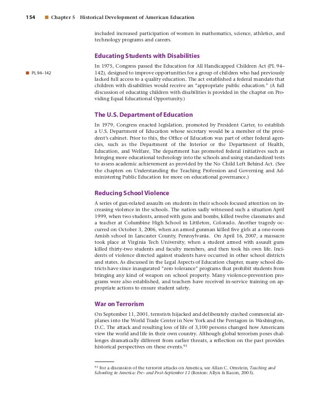 foundations of education student text tenth edition 2007