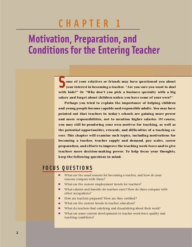 Choosing a Career in Teaching The path to becoming a teacher starts when you first choose teaching as a career. In this sec...