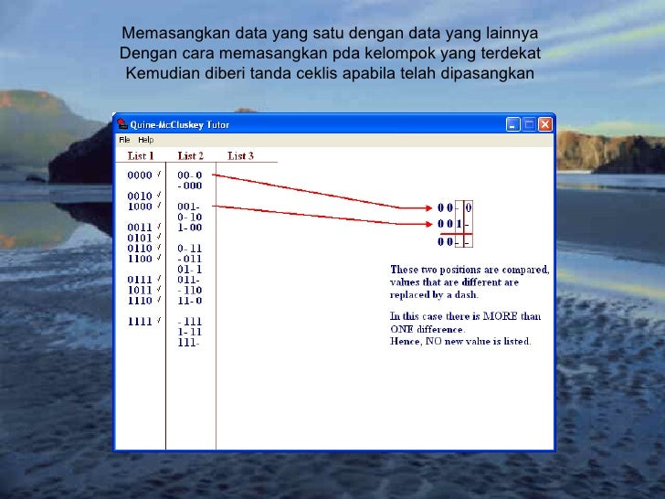 Memasangkan data yang satu dengan data yang lainnya Dengan cara memasangkan pda kelompok yang terdekat Kemudian diberi tan...