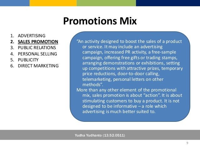 marketing is more than selling and promotion essay Sample of marketing mix and 4ps essay sales promotion pricing strategy of coke is rather simple it is slightly more expensive than other soda brands that.