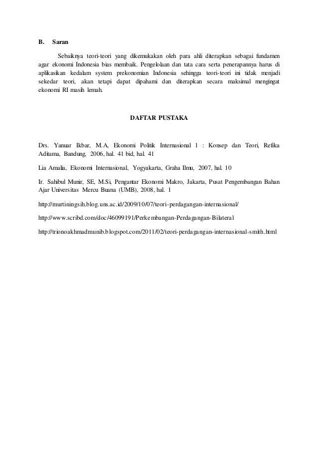 Sistem Perdagangan Internasional - ppt download