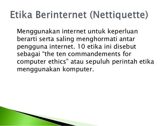 Contoh Etika Relatif Huntoh