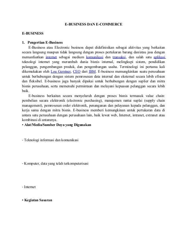 E business dan e-commerce doc. Slide 2