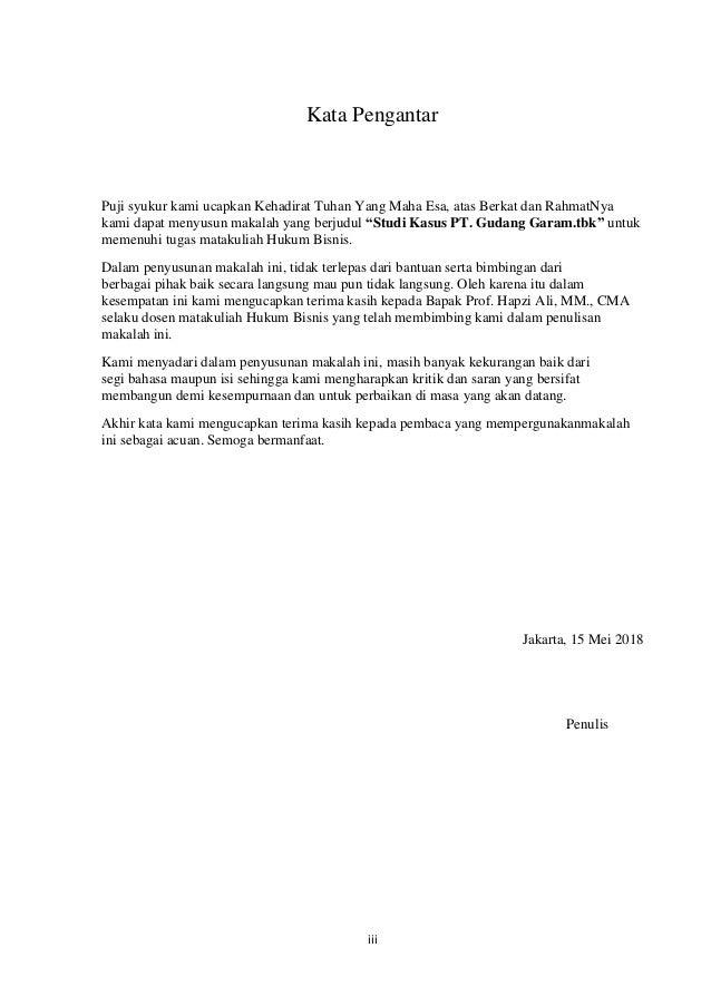 Tugas 3 Artikel Hukum Bisnis Dan Lingkungan Hefti Juliza Hapzi Ali