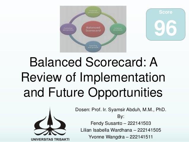 implementation of balanced scorecard porsche case 89 management accounting change: a case study of balanced scorecard implementation in a portuguese service company luís pimentel iscte business school, lisbon.