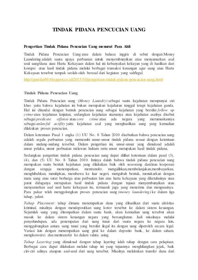 Tugas 5 Hbl Hayyu Safitri Hapzi Ali Tindak Pidana Pencucian Uang