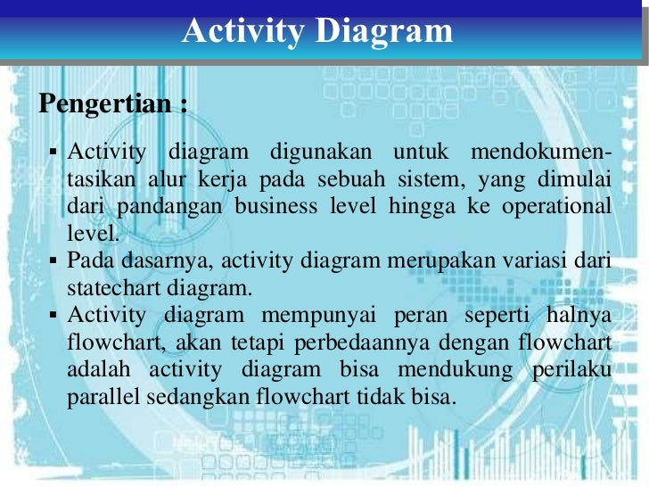 Tugas 3 Adbo Class Object State Dan Activity Diagram